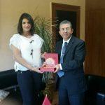 As Ambassador of the IOMPD, I had the pleasure to reward Mr. Karim Madrek for his brilliant diplomatic achievements