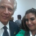 Meeting with the Former French Prime Minister Dominique de Villepin
