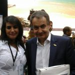 Meeting with the former spanish Prime Minister José Luis Zapatero